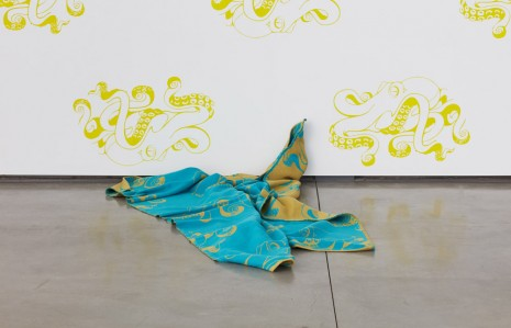 John M. Armleder, Gold Fish, 2016-2017, David Kordansky Gallery