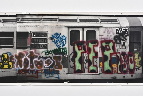 Gordon Matta-Clark, Graffiti Photoglyph (detail), 1973, Marian Goodman Gallery