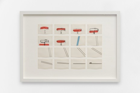 Robert Breer, Sequence from Swiss Army Knife with Rats and Pigeons, 1980, gb agency