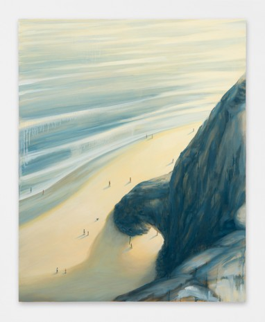 Dan Attoe, Beach with Cliff, 2016, Peres Projects