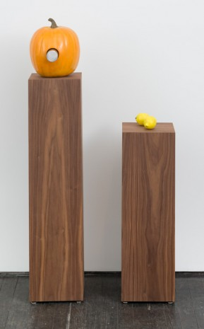 Margaret Lee, Pumpkin (two ways) and a little extra, 2017 , Jack Hanley Gallery