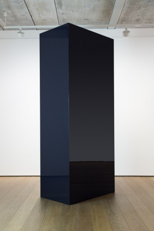 John McCracken, Untitled, Black Column, 1977 , Almine Rech