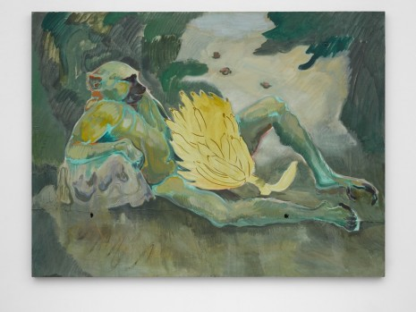 Michael Armitage, Baboon, 2016, White Cube