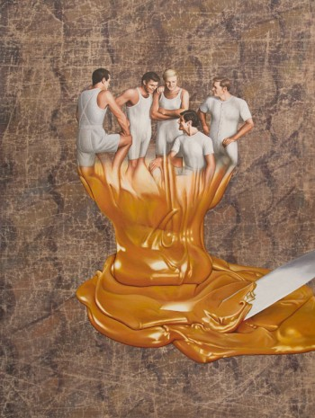 Jim Shaw, The Pour, 2016, Simon Lee Gallery