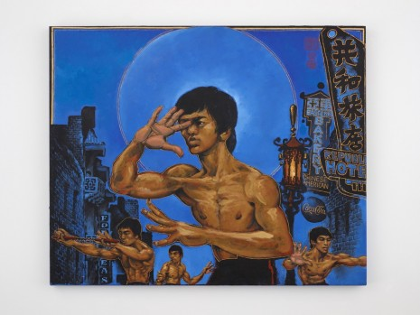 Martin Wong, Clones of Bruce Lee, 1992, Simon Lee Gallery