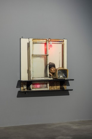 Edward and Nancy Reddin Kienholz, Drawing for Hoerengracht No. 1, 1984, Sprüth Magers