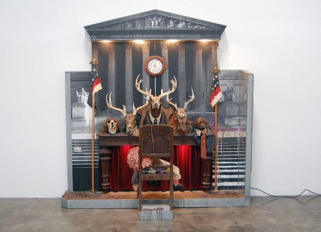 Edward and Nancy Kienholz, Drawing for the Caddy Court, 1986, Sprüth Magers