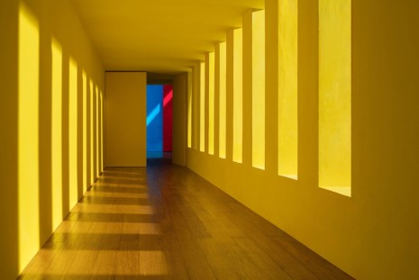 James Casebere, Yellow Corridor, 2016, Sean Kelly