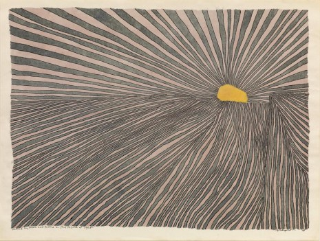 Jonathan Bragdon, formed by folds and tucks in the tissue of light, 1978, Aurel Scheibler