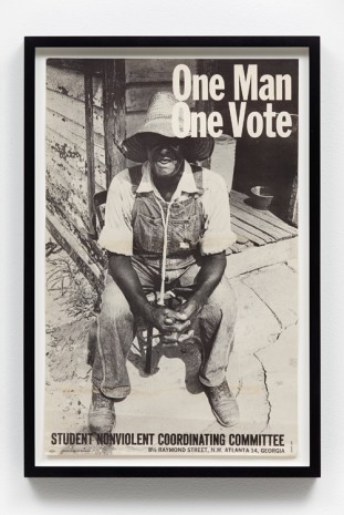 Danny Lyon, One Man One Vote, 1964, Gavin Brown's enterprise
