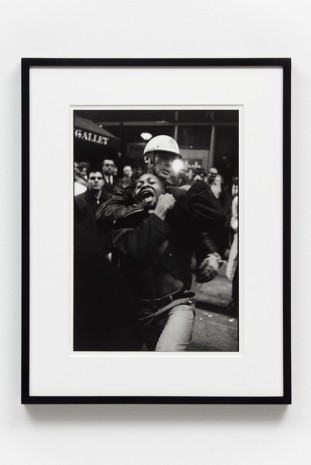 Danny Lyon, Arrest of Taylor Washington, Atlanta, , Gavin Brown's enterprise
