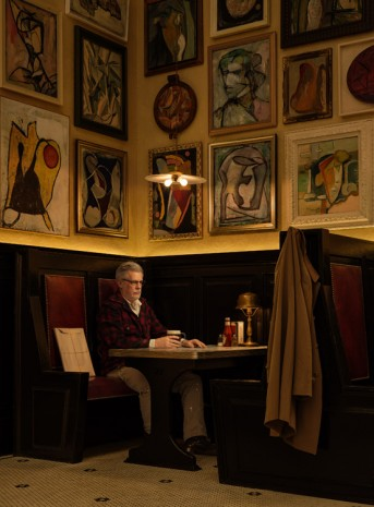 Rodney Graham, Rodney Graham Artist in Artists' Bar, 1950s, 2016, Hauser & Wirth