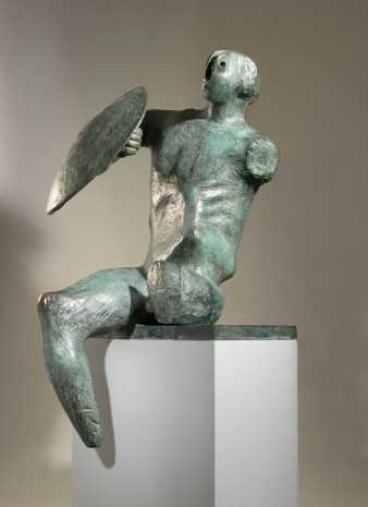 Henry Moore, Warrior with Shield, 1953 / 1954, Hauser & Wirth