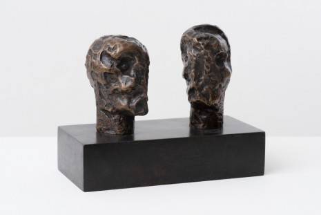 Henry Moore, Emperors' Heads, 1961 (cast 1967), Hauser & Wirth