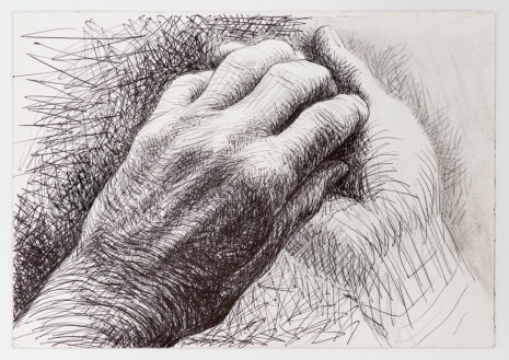 Henry Moore, The Artist's Hands, 1974, Hauser & Wirth