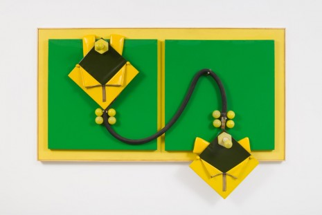 Miguel Ángel Cárdenas, Green and yellow lovers, 1964, Andrea Rosen Gallery