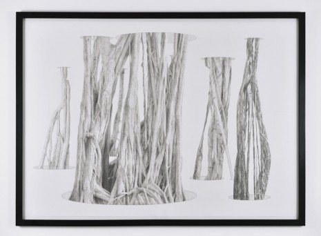 Jim Shaw, Banyan Tree in Holes, 2011, Praz-Delavallade