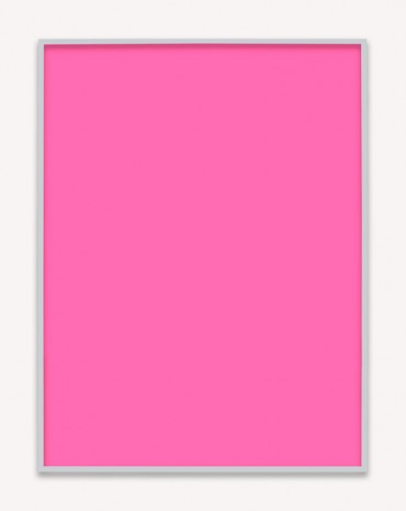 Phil Chang, Untitled (Magenta Monochrome 02), 2016, Praz-Delavallade