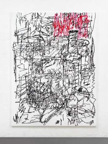 Chris Succo, At the Drawing Room, 2016, Almine Rech Gallery