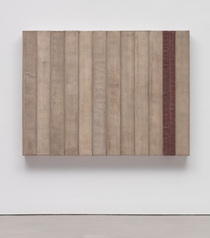 Theaster Gates, Sans Blue, 2016, Regen Projects
