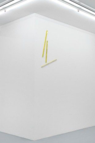 Patrick Hill, Falling Apart (Yellow), 2011, Almine Rech