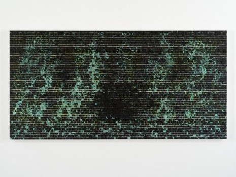 Jack Whitten , Quantum Wall, II (Missing Matter), 2016, Hauser & Wirth