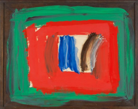 Howard Hodgkin, Paris, 2010–16, Gagosian