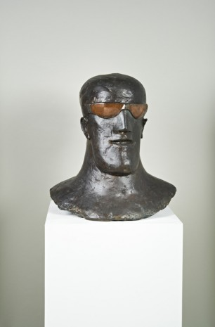 Elisabeth Frink, Goggled Head I, 1969, Hauser & Wirth Somerset