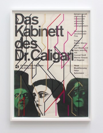 Sarah Morris, The Cabinet of Dr. Caligari, 2017, Petzel Gallery