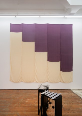 Sriwhana Spong, Purple Raincoat (for Vasiliki), 2016 , Michael Lett