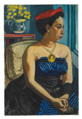 Alice Neel, Alice Childress, 1950 , David Zwirner