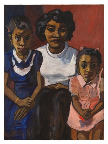 Alice Neel, Black Spanish-American Family, 1950 , David Zwirner