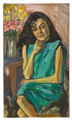 Alice Neel, panish Woman, c. 1950 , David Zwirner