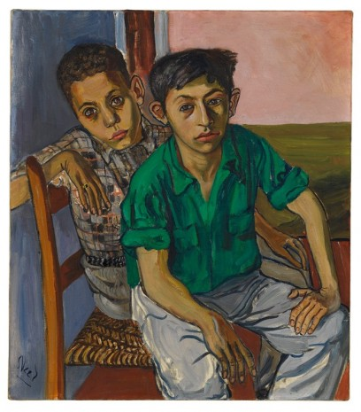Alice Neel, Two Puerto Rican Boys, 1956 , David Zwirner