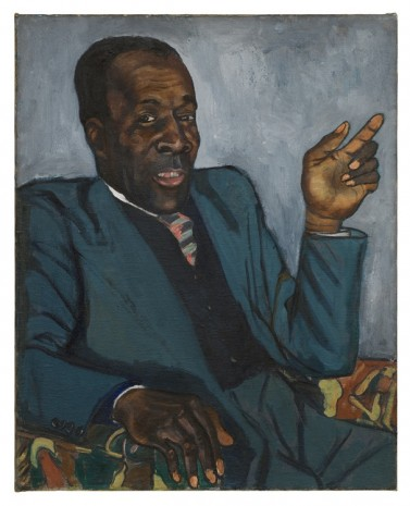 Alice Neel, Rudolph Christian, 1951 , David Zwirner