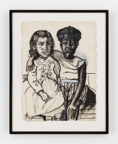 Alice Neel, Two Girls, 1954 , David Zwirner