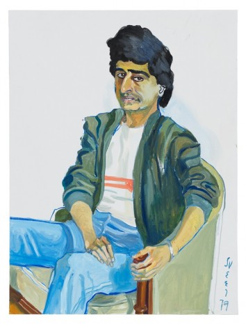 Alice Neel, Cyrus, the Gentle Iranian, 1979 , David Zwirner