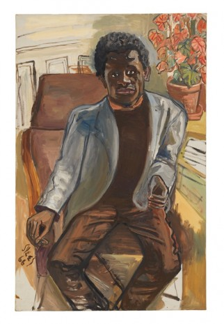 Alice Neel, Black Man, 1966 , David Zwirner