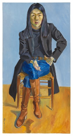 Alice Neel, Ron Kajiwara, 1971 , David Zwirner