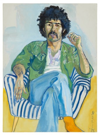 Alice Neel, The Arab, 1976 , David Zwirner