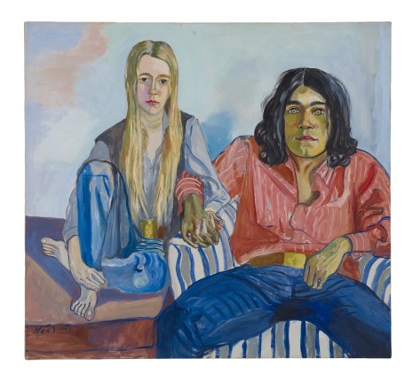 Alice Neel, Ian and Mary, 1971, David Zwirner