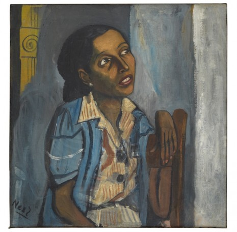 Alice Neel, Mercedes Arroyo, Mercedes Arroyo, 1952, David Zwirner