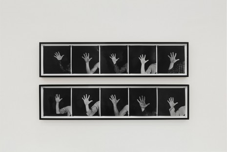 Robert Kinmont, This is my Hand, 1970, Hauser & Wirth