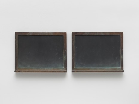 Vija Celmins, Blackboard Tableau #14, 2011-15, Matthew Marks Gallery