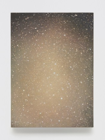 Vija Celmins, Untitled (Ochre), 2016, Matthew Marks Gallery