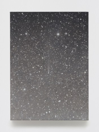 Vija Celmins, Untitled (Falling Star), 2016, Matthew Marks Gallery