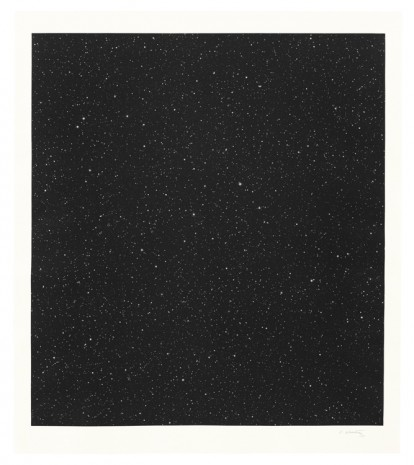 Vija Celmins, Untitled (Large Night Sky), 2016, Matthew Marks Gallery