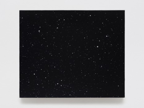 Vija Celmins, Night Sky #20, 2000-2016, Matthew Marks Gallery