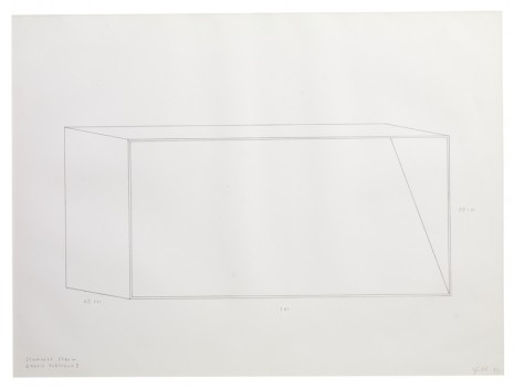 Donald Judd, Untitled, 1977, Sprüth Magers