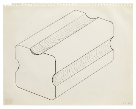 Donald Judd, Untitled, 1963, Sprüth Magers